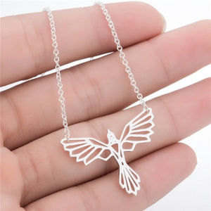 Jewelry - Fine Stainless Steel Phoenix Bird Artisan Necklace